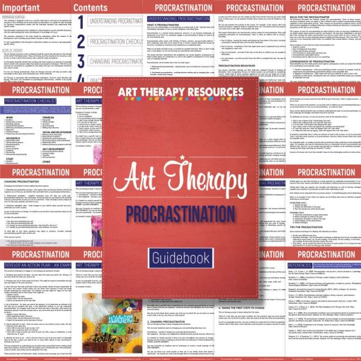 Art Therapy Procrastination Guidebook