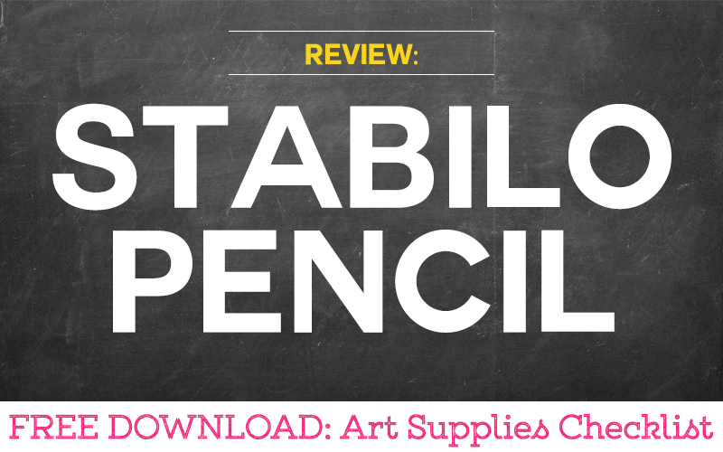 Review of the Stabilo Pencil for Art Therapy Activities