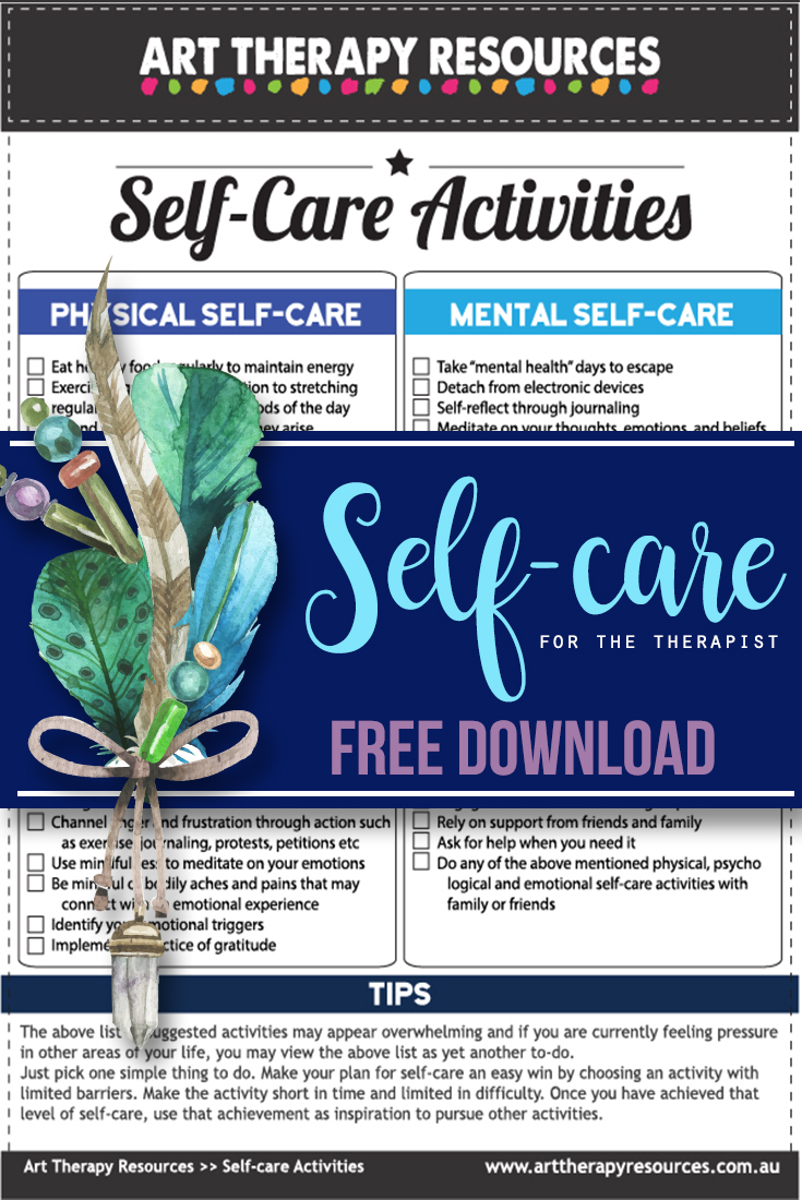 Self-Care for Art Therapists
