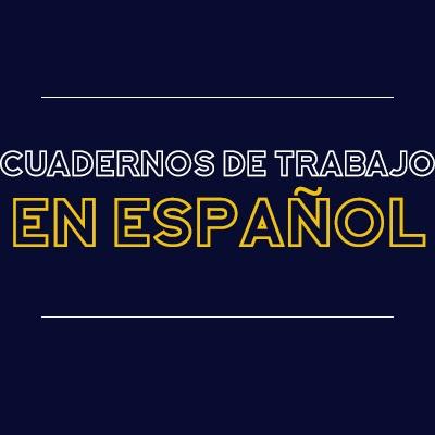 Cuadernos de trabajo en español