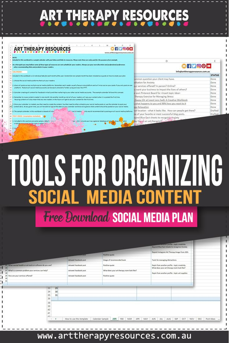 Tools for Organizing Your Social Media Content
