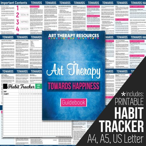 Art Therapy Guidebook Towards Happiness