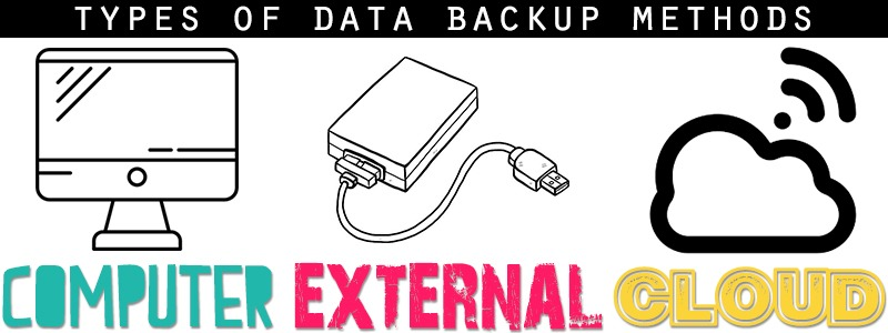 Types of data backup methods