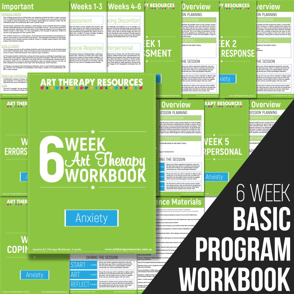 Anxiety Basic Program Workbook